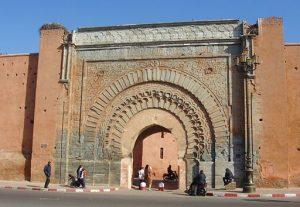 最も美しいフォルムといわれるBAB AGNOU門(アグノウ門)