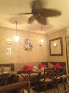 2階の内装restaurant LOFT