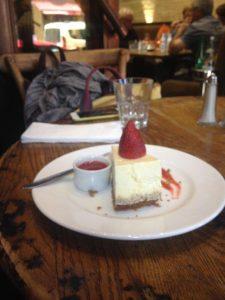 マラケシュレストランloft チーズケーキ