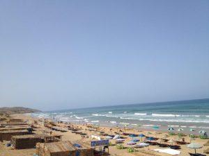 モロッコアシラパラダイスビーチ全体