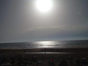 モロッコアシラビーチ夕日
