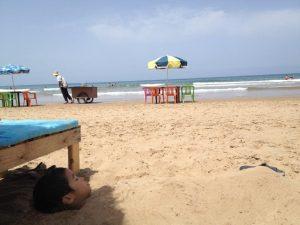 モロッコアシラのパラダイスビーチ
