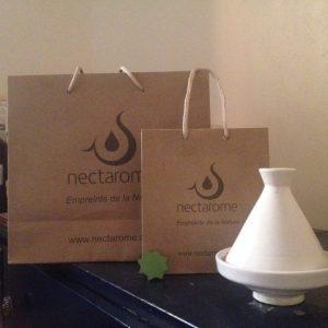 Nectarome CHANGEの新しいペーパーバッグ。