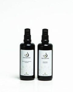 nectaromeのオレンジ水とローズ水(100mlボトル)