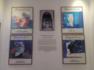 Yves saint laurentのLOVEポスターYves saint laurentのLOVEポスター