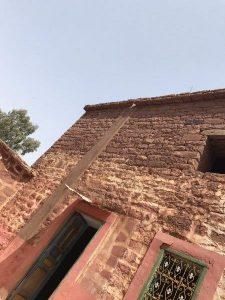 モロッコ石造りの家