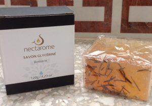nectaromeグリセリン石鹸ローズマリー