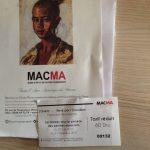 マラケシュ新市街で静かに絵と向かい合える場所MACMA