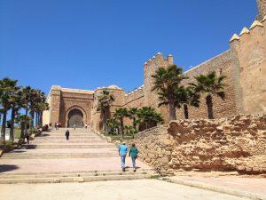 ouidaya kasbahの入り口