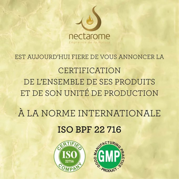 nectarome_iso22716