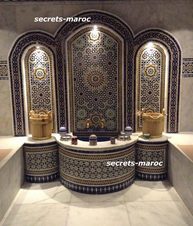 古都FesにあるRiad Sheharazate内のハマム