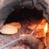 nectarome's オーガニックガーデンでのパン作り風景(@ourika, Marrakech)