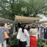 京都市内institut francais(旧日仏学院)の日曜青空市ル・マルシェに出店します。